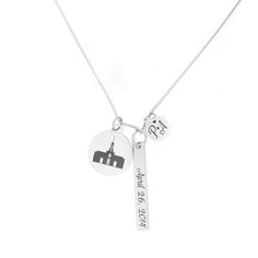 30510058caf43b Remember the eternal blessings of the temple with this new charm necklace.  Each charm represents
