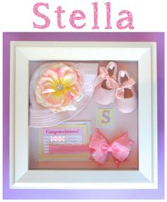 Easy DIY Shadow Box Ideas for Babies