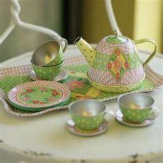 tin children's tea sets