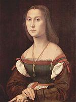 """""""La muette""""  Raphaël Sanzio 1507-1508"""