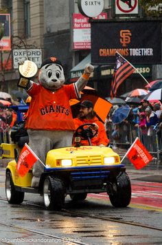 S.F. Giants 2014 World Series Champions ~ #WorldSeries #LouSeal