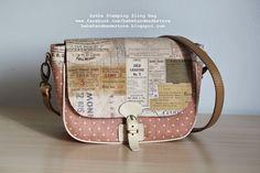 Bebe Handmade Store: *Zakka Stamps* Sling Bag (S)