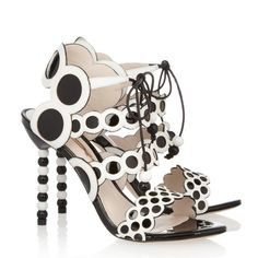 Sophia Webster: Yayoi Sandals #fashion #shoes