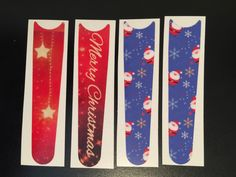"""New Christmas Designs! Get these bands in our Cover Bands store at DVCCentral.com. In the """"Fashion"""" category! Cover Bands are waterproof, removable decals for your Magicbands!"""