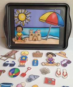 Summer speech therapy activities for kids are a must have in your speech room!