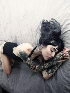 Tattoo Sleeves - Tattoo Babes