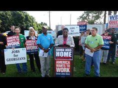 Bring Jobs Back Home Press Conference- Savannah, Georgia July 6th, 2012