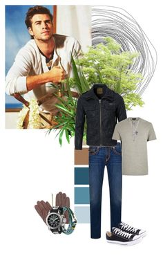 """""""`No Church in the Wild...'"""" by mars-phoenix ❤ liked on Polyvore featuring True Religion, Superdry, River Island, Converse, Dents, J.Crew and Invicta"""