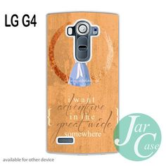 beauty and the beast belle quotes Phone case for LG G4 and other cases