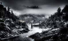 auburn ca art | The Shuttered Image | Bridges | Old Foresthill Bridge - Auburn, CA U.S ...