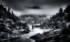 auburn ca art   The Shuttered Image   Bridges   Old Foresthill Bridge - Auburn, CA U.S ...