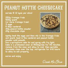 Peanut hottie cheesecake