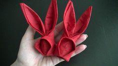 Origami Hase aus Servietten zu Ostern - sehr schnell gemacht - Freude fü...