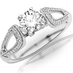 0.45 Carat Round Cut/Shape 14K White Gold Vintage Style Split Shank Milgrain Diamond Engagement Ring ( J-K Color , I1-I2 Clarity ) Chandni Jewels,http://www.amazon.com/dp/B00BVPOR7K/ref=cm_sw_r_pi_dp_h7V-sb0PF8VF08C8