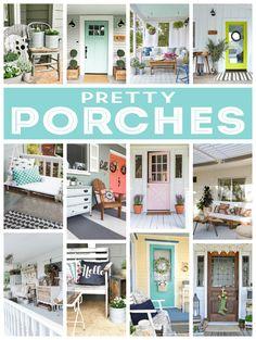 Pretty Front Porch Ideas | Home Decorating Ideas