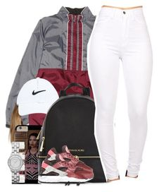"""""""Zayn / Pillowtalk"""" by nasiaamiraaa ❤ liked on Polyvore featuring adidas, NIKE, Michael Kors, Maison Margiela, Marc by Marc Jacobs and NanaOutfits"""