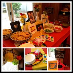 Last night we hosted a {Going Away} FIESTA for my nephew Ryan. He leaves this week for a 2 year Mormon Mission in Barcelona, Spain. Nacho Bar Party, Bbq Party, Candy Recipes, Snack Recipes, Snacks, Dessert Nachos, Housewarming Party, Bar Drinks, Group Meals