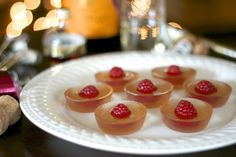 F is for: Framboise Champagne Jello Shots