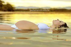 Ensaio gestante na Praia do Rosa  Sunshine