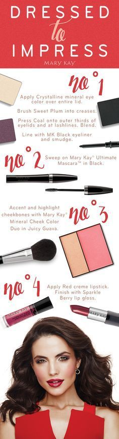 Important event, meeting, or interview coming up?  Dress to impress!  When you are meeting new individuals for the first time, they will base their first impression of you on your appearance.  Make sure you look your best and let Mary Kay help you!