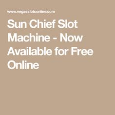 Join us in the ruins of Aztec pyramids in Sun Chief's slot machine game developed by Ainsworth. This slot features great visuals and stacked features Free Slot Games, Free Slots, Slot Machine, Sun, Arcade Machine, Solar