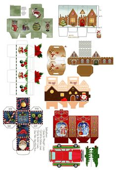 Thumbnails in my world: Advent Calendar: Transforming furniture Thumbnails in my world: Advent Calendar: Transforming furniture – Heimkino Systemdienste Miniature Christmas, Christmas Crafts, Christmas Decorations, Paper Toys, Paper Crafts, Diy Crafts, Diy Dollhouse, Dollhouse Miniatures, Xmas Elf