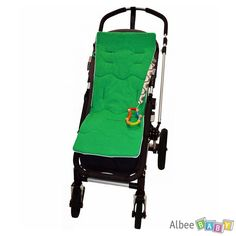 SAVE 50% -  Tivoli Couture Classic Luxury Stroller Liner - Emerald - WAS $49.99, NOW $24.99. Unique lining cushions the ride by conforming to individual body shapes. www.albeebaby.com