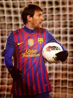 Messi - FC Barcelona 2012- not like me but had to rep in, best soccer player ever!!!!