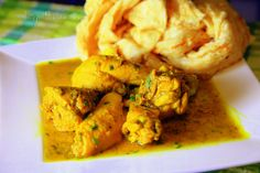 Cooking with Ria: Indra's (Mummy) Trinidadian Curried Chicken