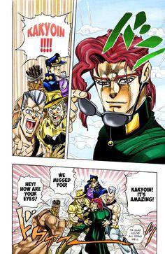 JoJo's Bizarre Adventure Part 3 - Stardust Crusaders (Official Colored) - Vol. 114 D'arby the Gamer Part 1 - MangaDex Jojo's Bizarre Adventure Anime, Jojo Bizzare Adventure, Rei Ayanami, Cowboy Bebop, Blue Exorcist, Manga Art, Manga Anime, Jojo Stardust Crusaders, Jojo Stands