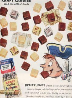 Kraft Fudgies, 1959