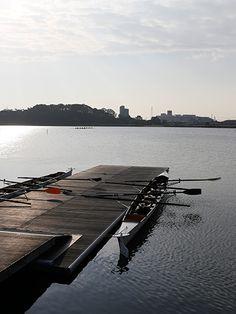 Lake Sanaru, Hamamatsu-city, レガッタの朝, Morning of the regatta Hamamatsu, City, Blue, Style, Swag, Cities, Outfits