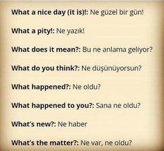 Learn Turkish Language, Russian Language, Learn A New Language, English Language, English Writing Skills, English Lessons, English Vocabulary, Language Quotes, Language Study