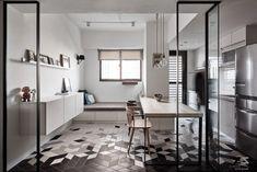 Il y a quelques jours nous vous présentions un appartement dans la ville de Taichung à Taïwan, fruit du travail des designers et architectes de Z-axis desi