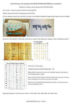 Life Quiz Q5 Gods name