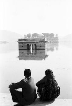 "Saatchi Art Artist NADIA ATTURA; Photography, ""Jaipur lake couple. Limited edition"" #art"