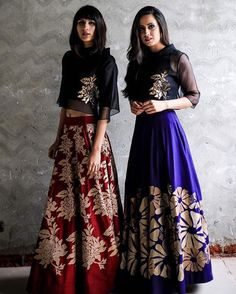 These lehengas are high on comfort and style. We can't think of a better outfit for a destination wedding. Pakistani Dresses, Indian Sarees, Indian Dresses, Indian Outfits, Indian Attire, Indian Wear, Indian Skirt, Desi Clothes, Indian Clothes