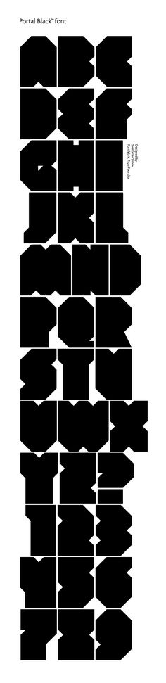 Portal a free font in black style + optical illusion style similar to Dioptical font.
