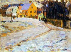 Wassily Kandinsky  Solsticio de invierno 4