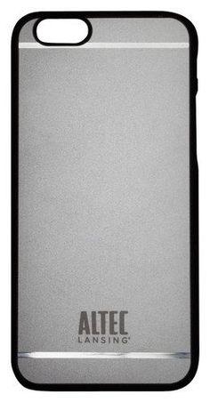 Altec Lansing - Shield Hard Shell Case for Apple® iPhone® 6 & 6s - Gunmetal (Grey)