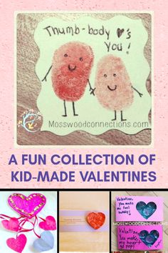 A Fun Collection of Non-Candy Valentines the Kids Can Make #mosswoodconnections