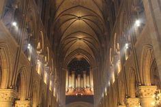 Interior de la catedral de Notre Dame de París © Lionel Allorge