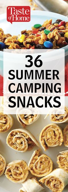 Camping dessert dishes are likewise fun and simple for kids to make, and the entire family takes pleasure in consuming them. Have a favorite household outdoor camping recipe that the kids love to prepare. Healthy Camping Snacks, Camping Appetizers, Camp Snacks, Camping Lunches, Best Food For Camping, Lunch Ideas For Camping, Best Camping Recipes, Healthy Meals, Easy Camping Breakfast