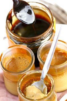 Les Cuisines de Garance: Petits pots de crème à la Mélasse pour le plein de douceur et d'énergie ....