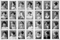 Mu sisters, 1926. -- My sisters from my chapter in 1926!! That's pretty awesome