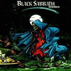 """Heavy Metal Fathers BLACK SABBATH released their studio album """"Forbidden"""" 24 years ago today. It was the last album with Tony Martin on vocals. Which is your favorite track on the album? Black Sabbath Album Covers, Black Sabbath Albums, Woodstock, Punk Rock, Rock Bands, Cd Album, Tony Iommi, Geezer Butler, Rock Music"""