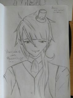 My own OC Franciskus von Rosenburg Thanks to my mom for helping me with the name. XD
