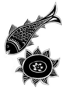 Folk Embroidery Design Indian Folk Designs: ~ Folk Designs from West Bengal ~ Madhubani Art, Madhubani Painting, Embroidery Motifs, Embroidery Designs, Pattern Drawing, Pattern Art, Indian Folk Art, Indian Patterns, West Bengal