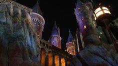 Hogwarts Castle in Orlando, Florida
