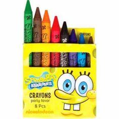 Favorite Cartoon Character Crayons.